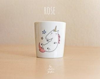 """teacup  """"pink Unicorn"""""""