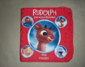 Rudolph the Red Nose Reindeer and Friends Cloth Story book