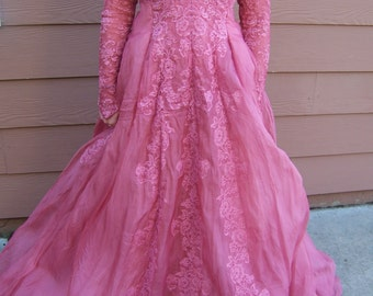 gothic dyed gowns by pricla of noston ball gown