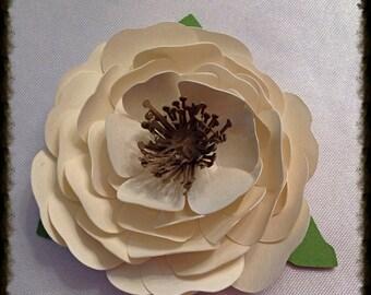 3D Lisianthus Flower