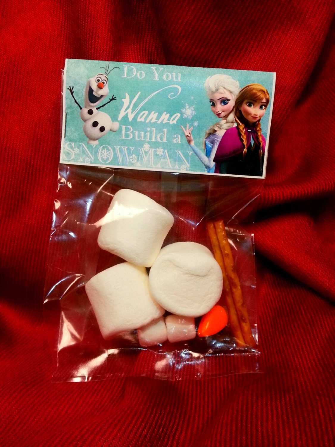 Frozen Valentine Frozen Valentines Favor Olaf Party Favor