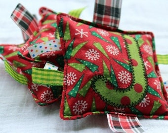 Christmas Custom Name Bean Bags