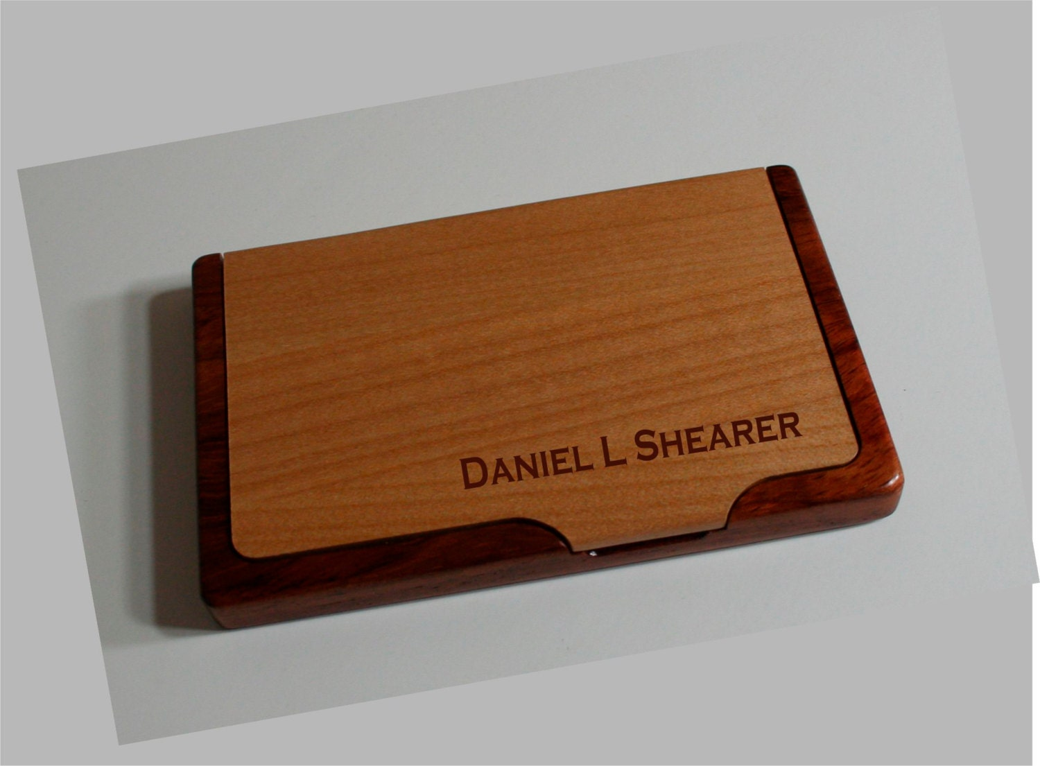 Business card holder personalized by dakotaexpressions1 on for Order custom business cards