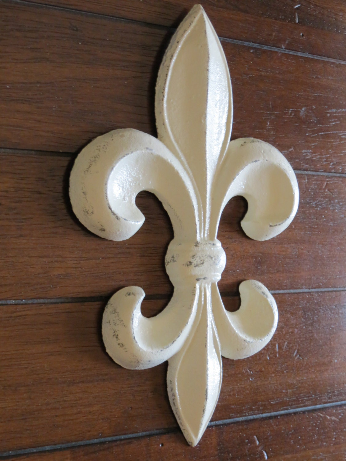 Fleur De Lis Wall Decor Creamy White Or Pick Your Color Cast