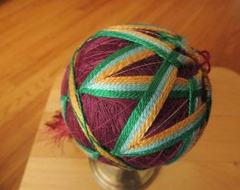 House Decorations, String Art, Tamari Ball, Kitchen Decor,  House Warming Gift, Holiday Decor, Handmade Decoration,