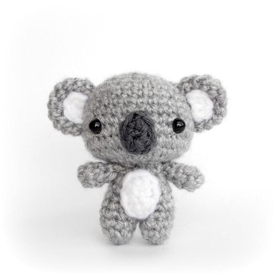 Amigurumi Koala Free : Amigurumi Cutie Koala Bear Crochet Animal Plush by AmiAmore