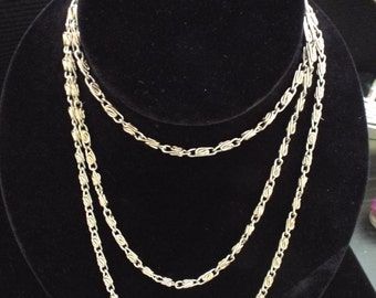 eloquently long  wrap necklace