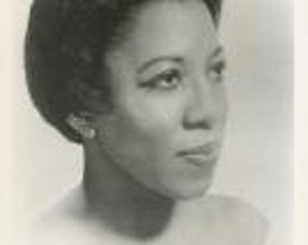 Ella Lee black woman opera star vintage music photo