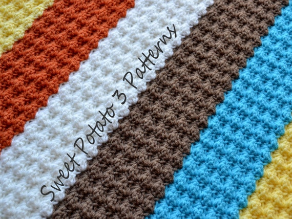 PATTERN Diagonal Delights Blanket - Baby Crochet from ...
