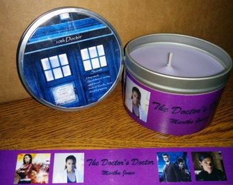 Doctor Who  Scented 8oz  Soy Candle