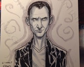 DOCTOR WHO - The Ninth Doctor - by an official Doctor Who artist