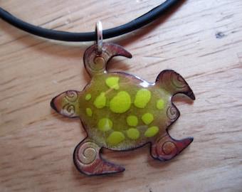 Floyd the Enameled Turtle