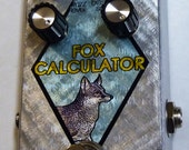 Mr. Wire - Fox Calculator - fuzz - guitar pedal (Wolf Computer clone and upgrade)