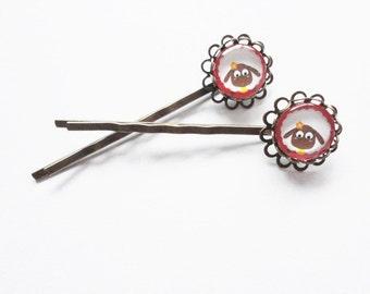 Sheep hair clips