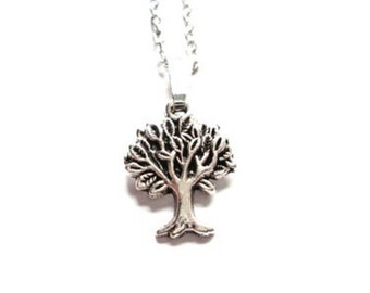Necklace little tree
