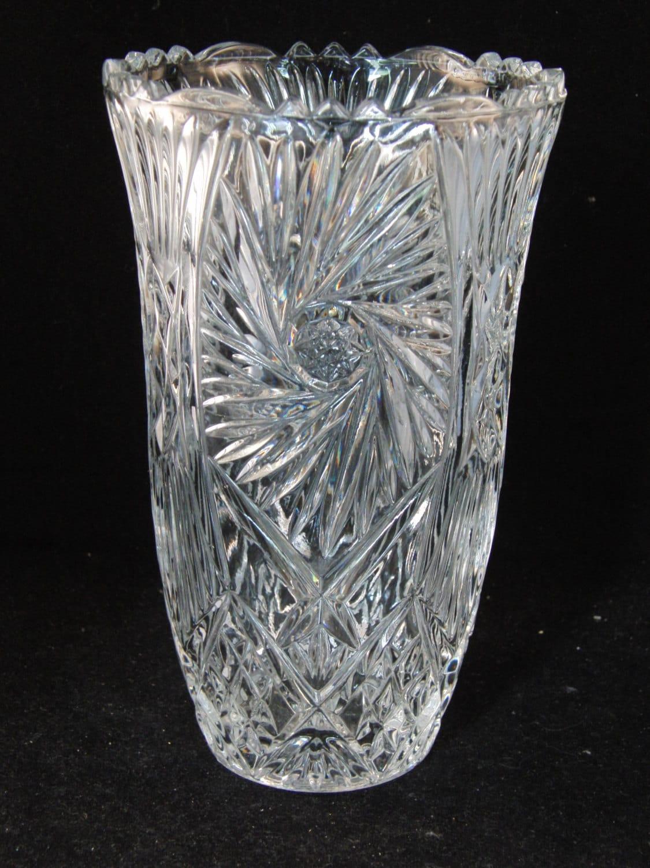 Genuine Lead Crystal Vase