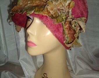 stunning vintage 1920s Cloche hat Made by Philippa Genuine vintage Flapper cloche hat Great Gatsby