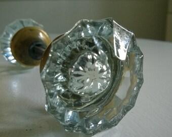 lighted glass door knobs: