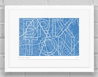 Streets of Brixton, London - Limited Edition Giclée Art Poster/Print