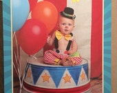 Boys Clown Costume, Boys 1st Birthday,Baby Boys Photo Prop, Boys Cake Smash,boys clothing, baby boys clothing, Clown outfit/MYSWEETCHICKAPEA