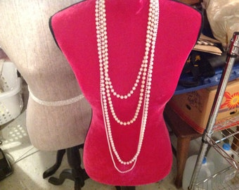 Vintage Lot of Pearl Necklaces