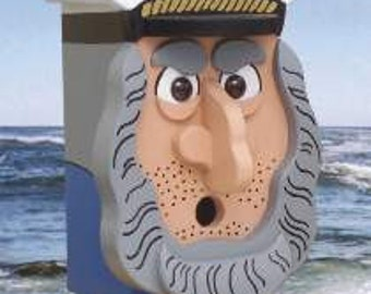 Sea Captain Birdhouse