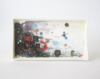 Abstract ceramic painting
