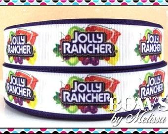 "1"" Jolly Rancher Ribbon 5 Yards"