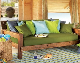 Futon Barnwood Day Bed