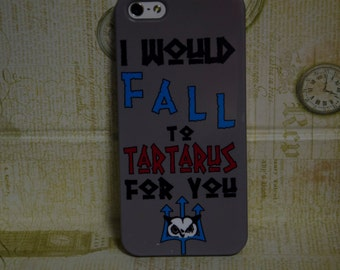 """Iphone 4/5/5c/6/6+ Samsung S3/S4/S5/S6/S6edge/S3&S4 mini Case, """"I support Percabeth!"""" Percy Jackson/Annabeth Chase Inspired Cell Phone Case"""