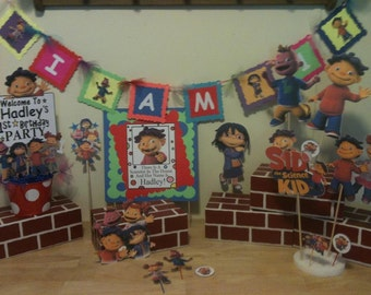 "Sid The Science Kid ""I AM 1"" Banner"