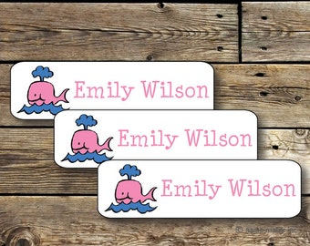 80 Summer Camp Labels - 80 Waterproof Durable Dishwasher Safe Kids Stickers Labels, Perfect to label items going to School and Camp