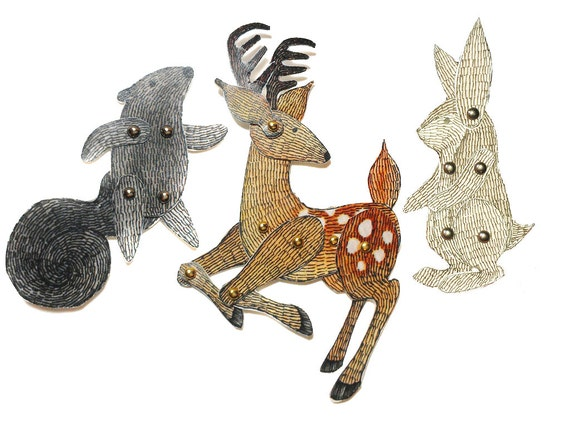 ... Puppets Patterns Articulated Mechanical Animals, Printable Animal