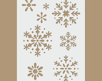 Snowflake - Christmas / Winter Stencil