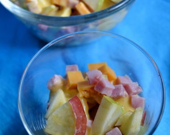 Apple Salad Recipe PDF from Apron Free Cooking