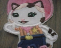 Sheriff Callie iron on applique