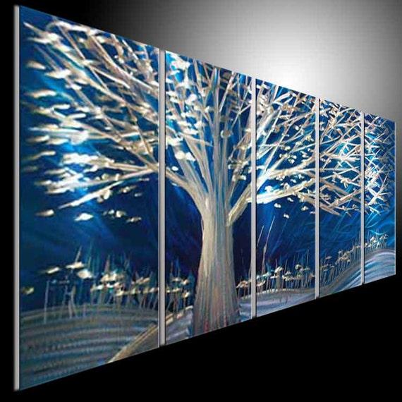 Original Metal Wall Art Modern 3D Painting Sculpture Wall Indoor