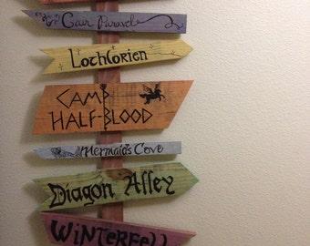 5 Signs Fantasy signs NO POST