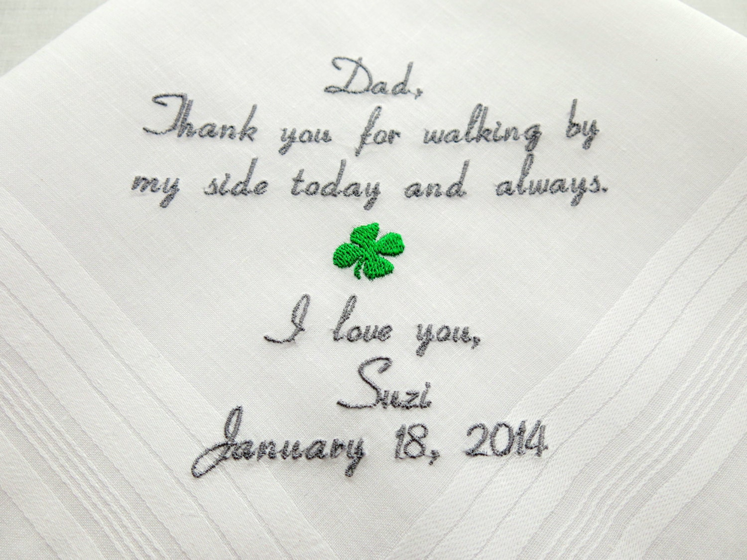 Father of the Bride Irish Wedding Gift Personalized Wedding