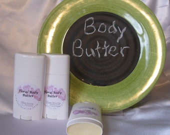 Body Butter Stick--Solid Lotion Stick--2.75oz