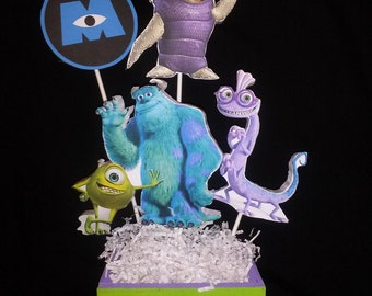 Monsters Centerpiece, choose your favorite character or one of each.