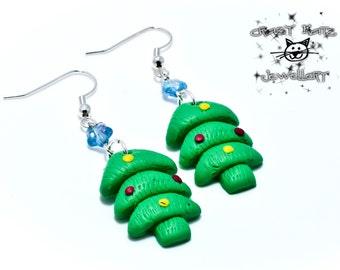 Christmas Trees Earrings