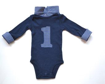 Baby Boy First Birthday Outfit - Boy First Birthday Shirt - First Birthday Outfit Boys - First Birthday Boy - Cake Smash Baby Boy