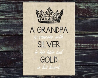 Grandpa Gift. Print and Pop into any frame. DIY Instant Download Print from Home. Gift for Him. Stocking Stuffer. Christmas Gift