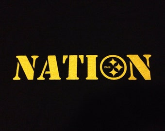 Pittsburgh Steelers Steeler NATION Tshirt