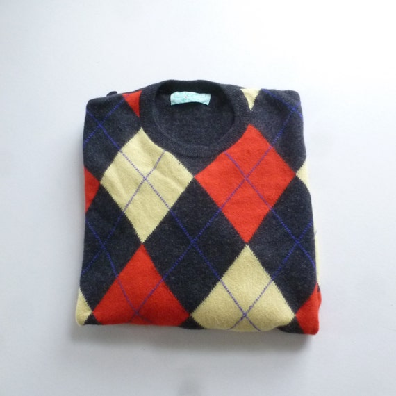 Sweater  8039;s Preppy Sweater  United Colors of Benetton Sweater Made