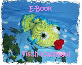 E-book - crochet pattern - fish Kussmaul GERMAN - ONLY GERMAN