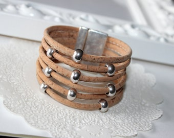 Bracelet Cork - Colors