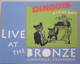 Buffy the Vampire Slayer - Dingoes Ate My Baby Postcard