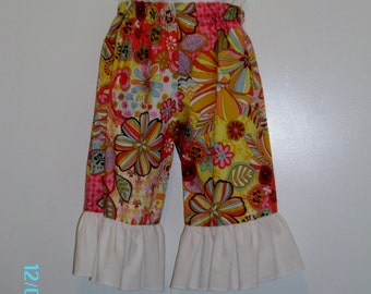 Michael Miller Ruffle Pants Size 18 Months only Ready To Ship.